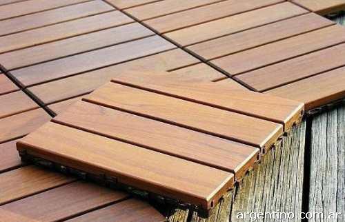 madera sintetica precios