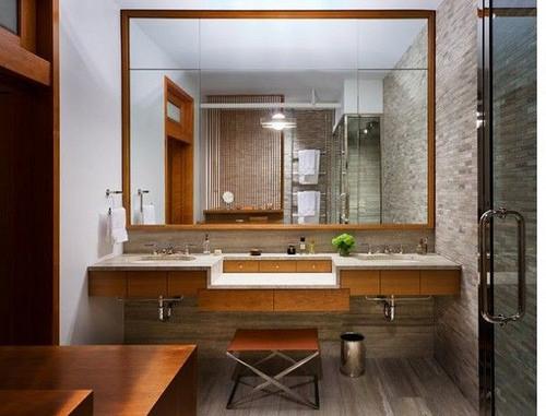 espejos para banos pequenos