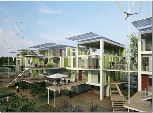 La arquitectura Bioclimatica, protectora del medio ambiente.