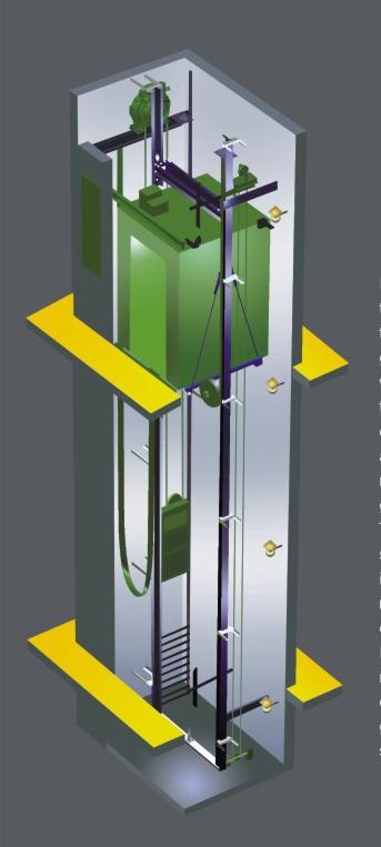 ascensor sin cuarto de maquina