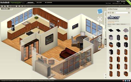 Autodesk Homestyler, el Autocad Online  para diseñar