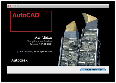 AutoCAD 2011 para Mac primera actualización