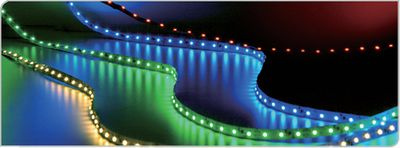 Tiras de LEDs para iluminación y decoración.
