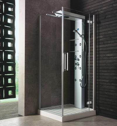 Las cabinas de ducha – excelente opción para decorar baños pequeños ...
