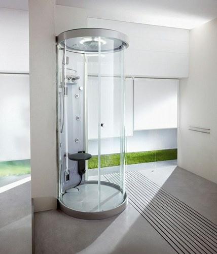 Las cabinas de ducha – excelente opción para decorar baños pequeños