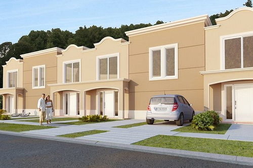 casas apareadas townhouses