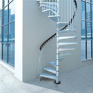 escalera de acero galvanizado