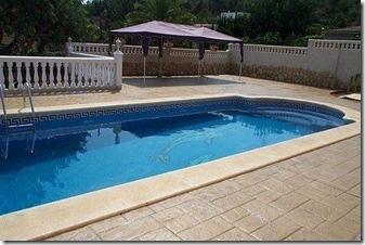 Pavimentos de hormigon impreso o estampado for Solados para piscinas