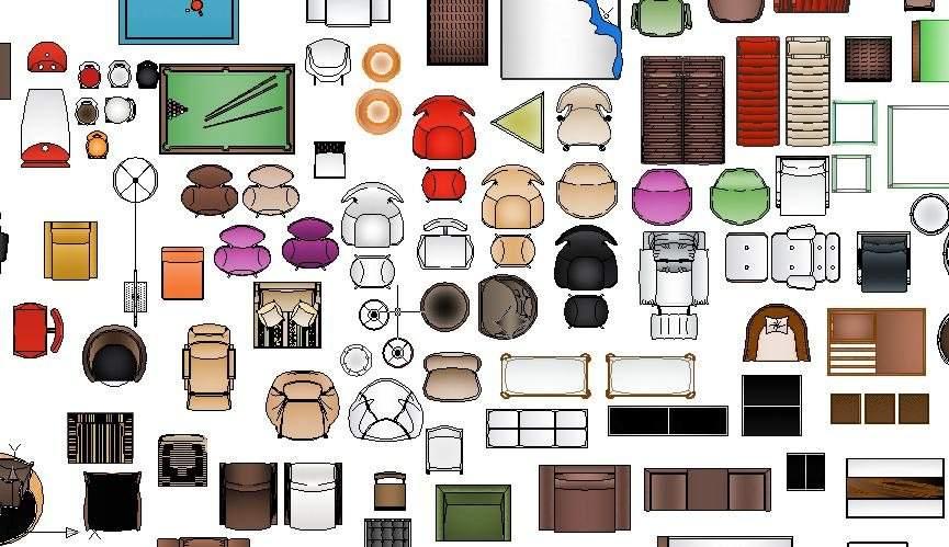 Descargar bloques autocad for Dibujos de muebles para planos arquitectonicos