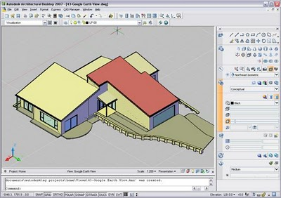 How insert your Autocad 3dmodel in Google Earth