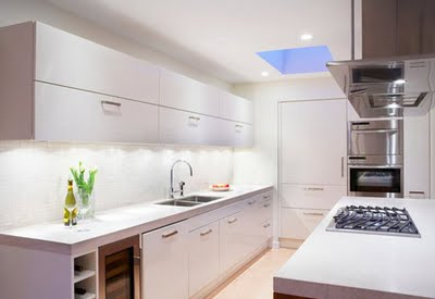 Decoracion de Cocinas con poco espacio .