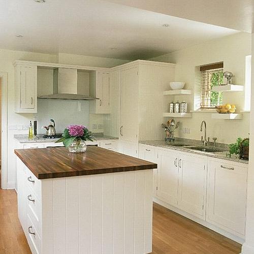 Decoracion de cocinas con poco espacio - Isletas de cocina ...