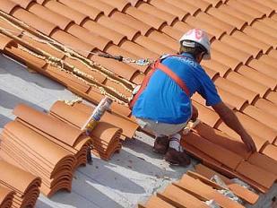 Detalle constructivo de colocacion de tejas francesas - Tipos de tejados para casas ...