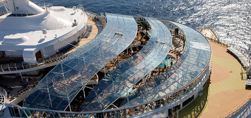 Royal Caribbean ostenta el crucero mas grande del mundo con su Oasis of the Seas