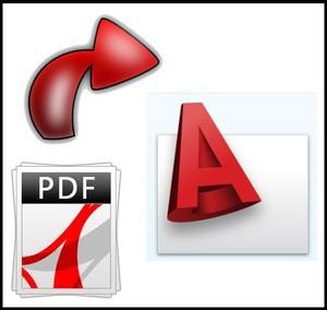 Como convertir dibujos de Pdf a Autocad