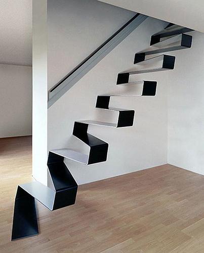 Las Escaleras Flotantes – la mejor solución para interiores modernos