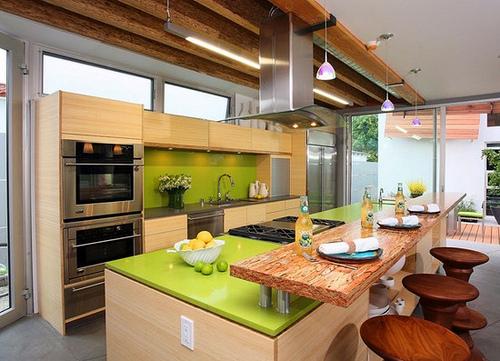 Cocinas modernas con isla central arquigrafico for Modelos de islas de cocina modernas