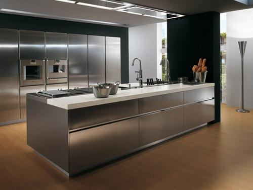 Cocinas modernas de acero inoxidable arquigrafico - Precios cocinas modernas ...