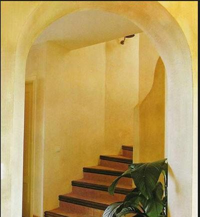 Tecnicas decorativas de pintura en paredes - Aplicacion decoracion de interiores ...
