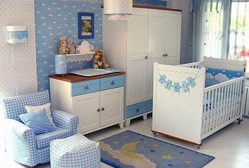 habitaciones para bebes nino