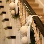 Cómo decorar una Escalera en Navidad
