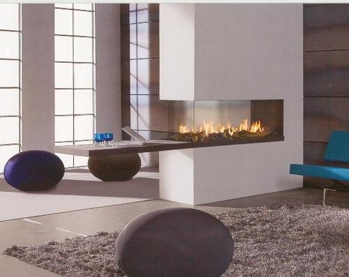 Tipos de chimeneas para nuestro hogar arquigrafico - Chimeneas a dos caras ...