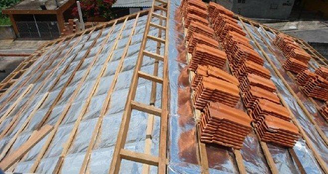 Manta termica de aluminio para techos - Material para tejados ...