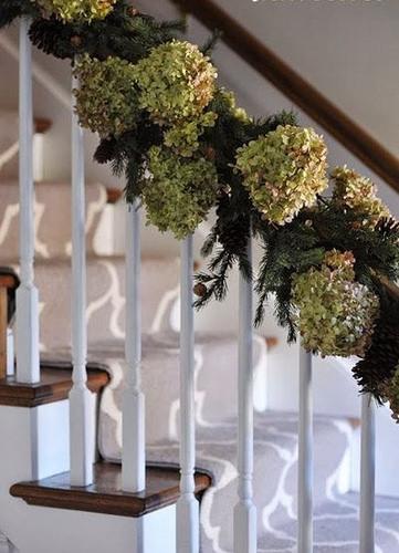 C mo decorar una escalera en navidad arquigrafico for Como decorar gradas