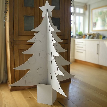 Como Decorar Tu Arbol De Navidad De 2015 - Arbol-de-navidad-con-vasos-de-plastico