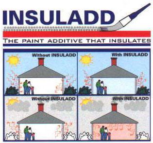 pintura aislante termica insuladd | mejor que la espuma de
