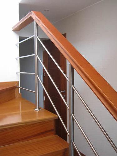 Como elegir el pasamanos correcto para tu escalera arquigrafico - Barandas de hierro modernas ...