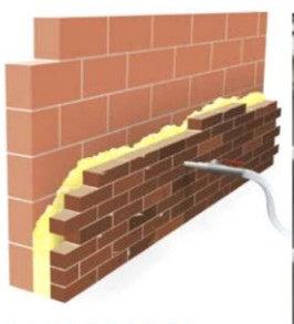 Lo ultimo en aislantes para paredes y fachadas arquigrafico for Aislamiento termico en fachadas por el interior