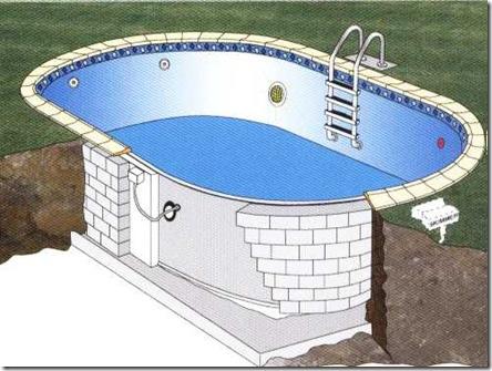 Las piscinas prefabricadas solucion rapida y economica - Cuanto cuesta una piscina de arena ...