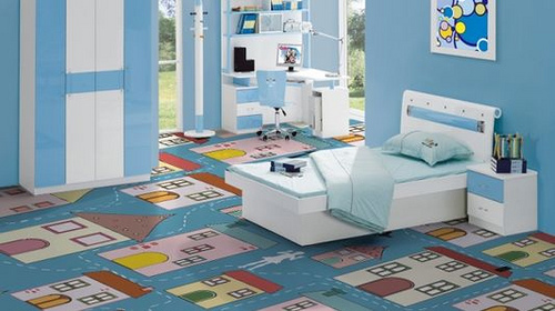 kids-room-vinyl floor