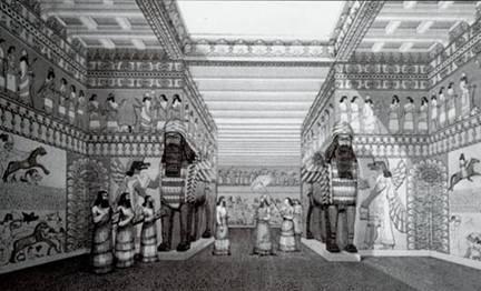 palacio asirio