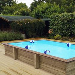 Piscinas desmontables porque construir una piscina - Piscinas de madera semienterradas ...