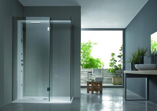 mamparas de ducha u solucion ideal para baos modernos