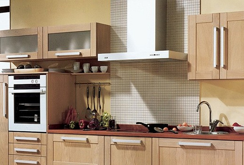 Las campanas o extractores de cocinas - Campanas de cocina decorativas ...