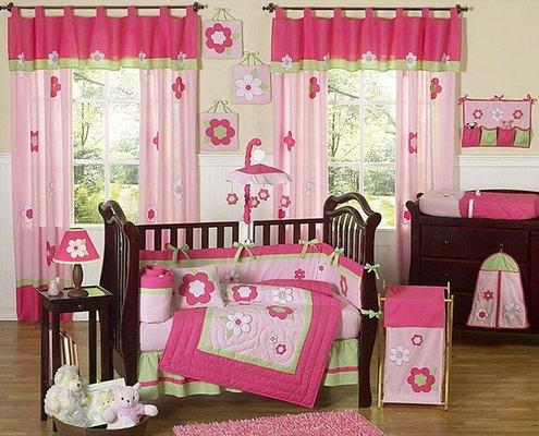 Decoración Dormitorios para Bebes Niñas – 10 Ideas de Ropa de Cunas ...