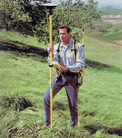 Estacion Total GPS, gran auxiliar de la topografia moderna.