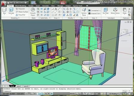 Diseño de planos en 3d, visualizar antes de construir.