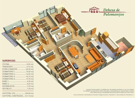 diseño planos 3d