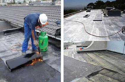 Impermeabilizantes en paredes y losas de concreto.