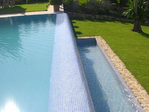 Las piscinas Desbordantes o Rebosantes