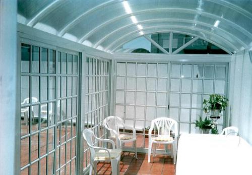 Fotos de techos de policarbonato