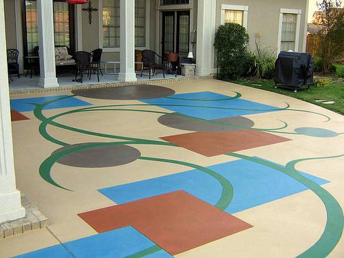 Piso epoxi decorativo dale a tu piso epoxi el acabado que for Pisos decorativos para interiores