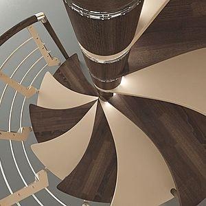 escalera de caracol moderna
