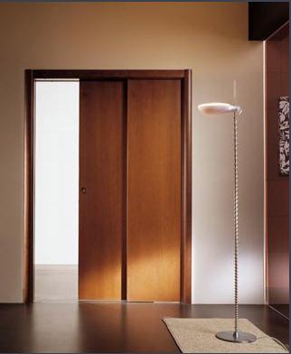 Las puertas correderas o corredizas decoran y ahorran - Puertas correderas empotradas en tabique ...
