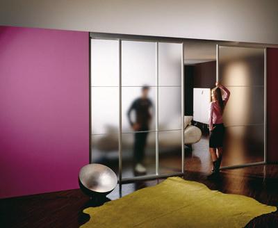 las puertas correderas o corredizas u decoran y ahorran espacio