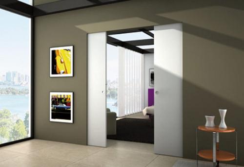 Las puertas correderas o corredizas decoran y ahorran for Puertas que abren hacia afuera